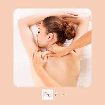 masaż leczniczy kobieta
