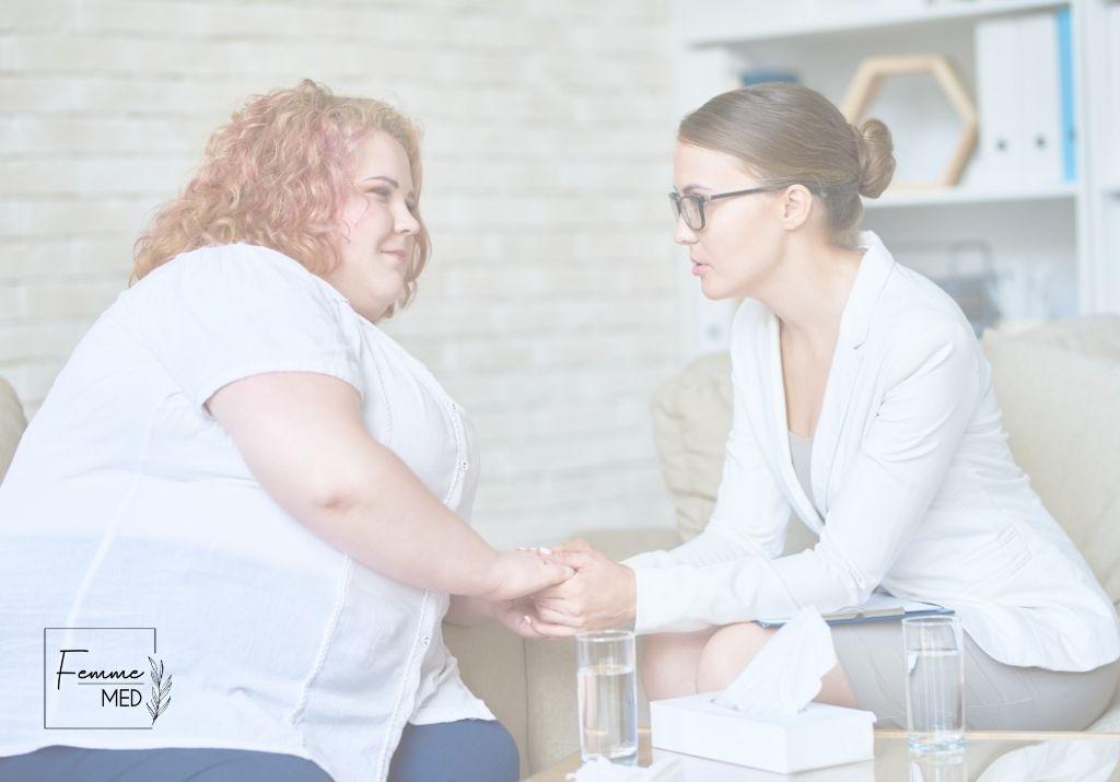 otyłość, leczenie otyłości, Kraków, kobieta